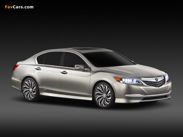 Acura RLX Concept (2012) images (640 x 480)