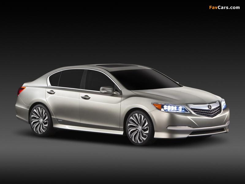 Acura RLX Concept (2012) images (800 x 600)