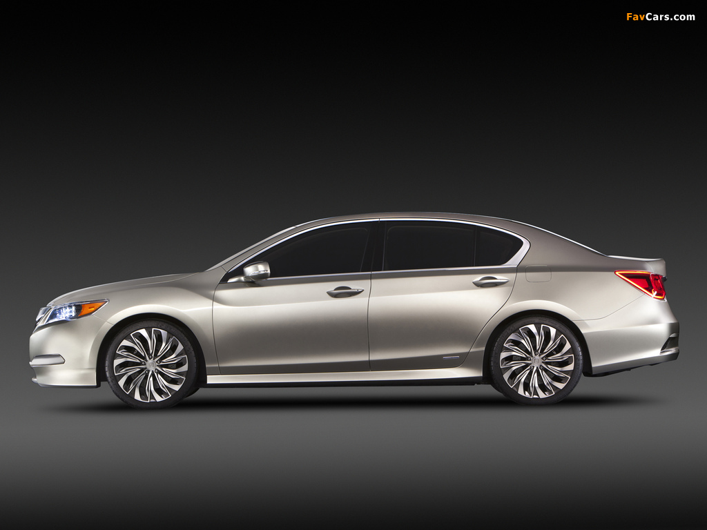 Acura RLX Concept (2012) pictures (1024 x 768)