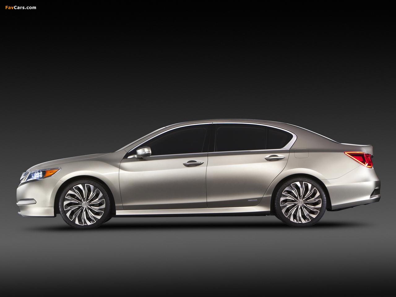 Acura RLX Concept (2012) pictures (1280 x 960)