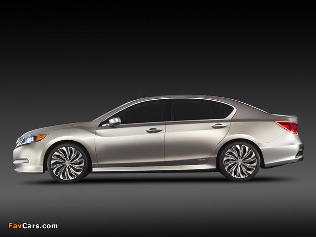 Acura RLX Concept (2012) pictures (640 x 480)