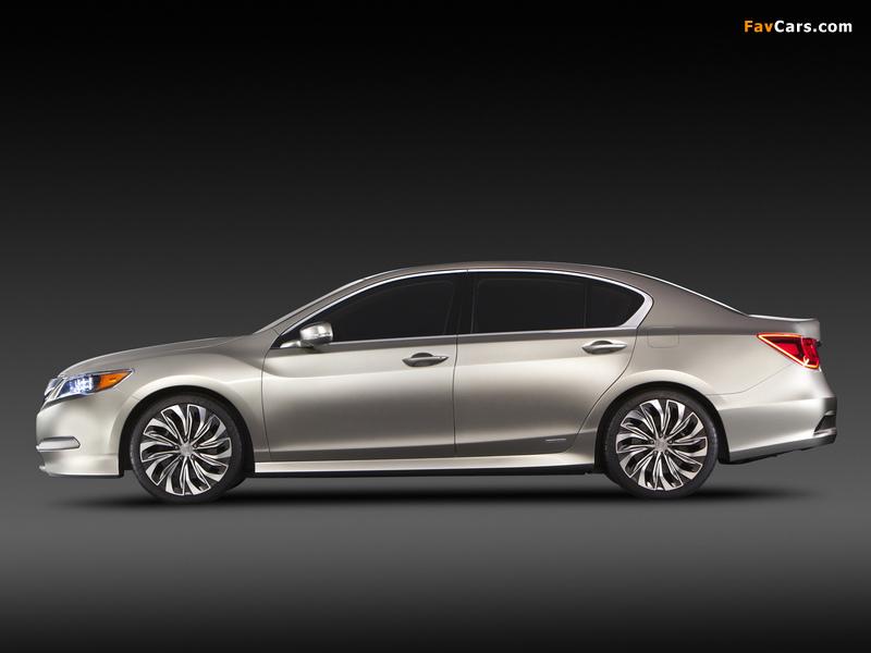 Acura RLX Concept (2012) pictures (800 x 600)