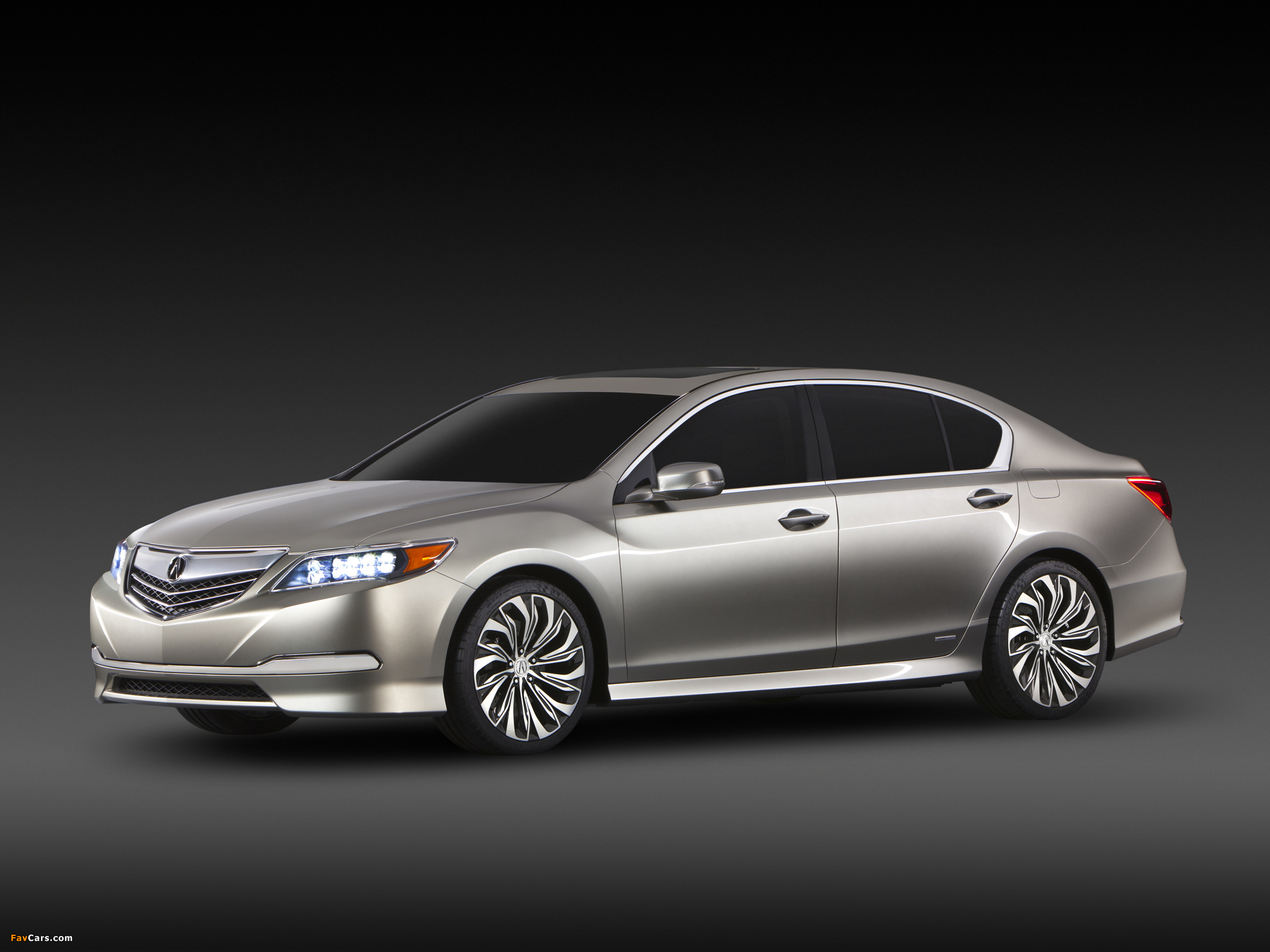 Acura RLX Concept (2012) wallpapers (2048 x 1536)