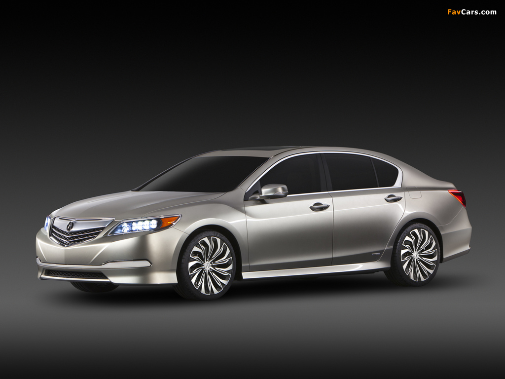 Acura RLX Concept (2012) wallpapers (1024 x 768)