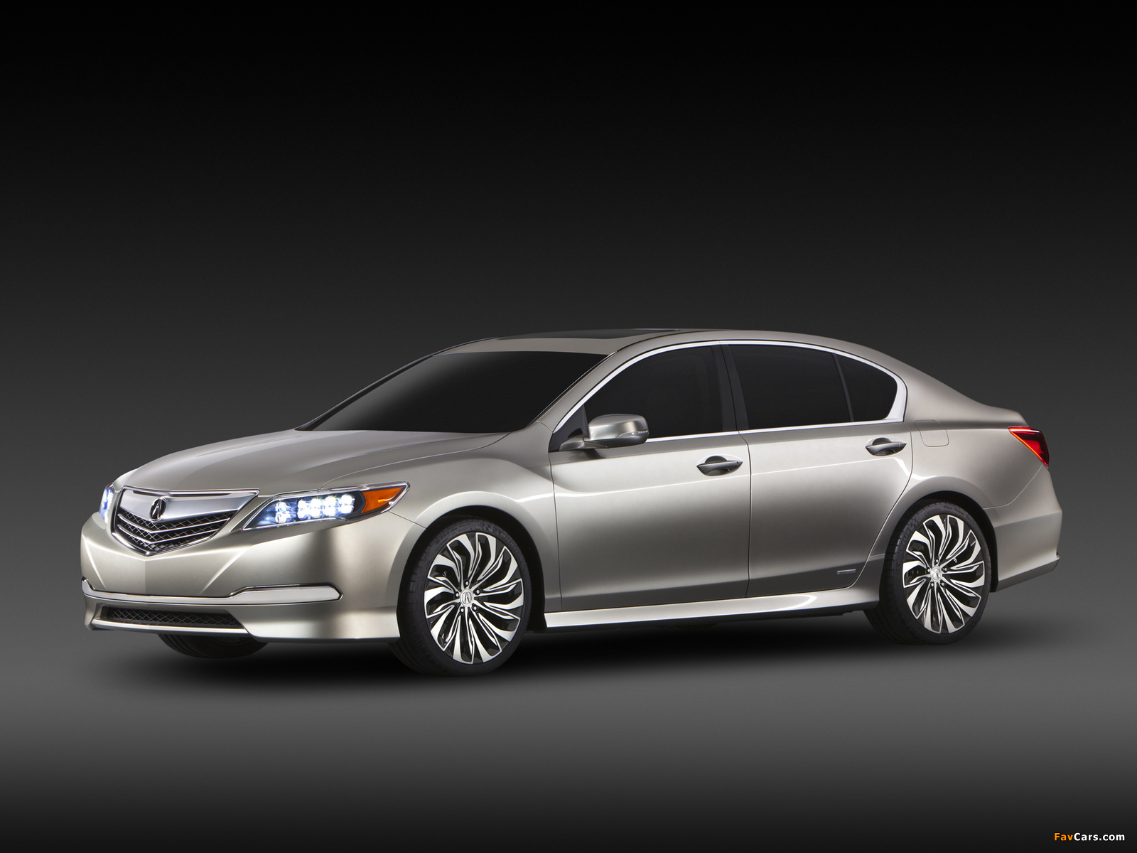 Acura RLX Concept (2012) wallpapers (1600 x 1200)