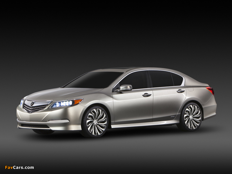 Acura RLX Concept (2012) wallpapers (800 x 600)