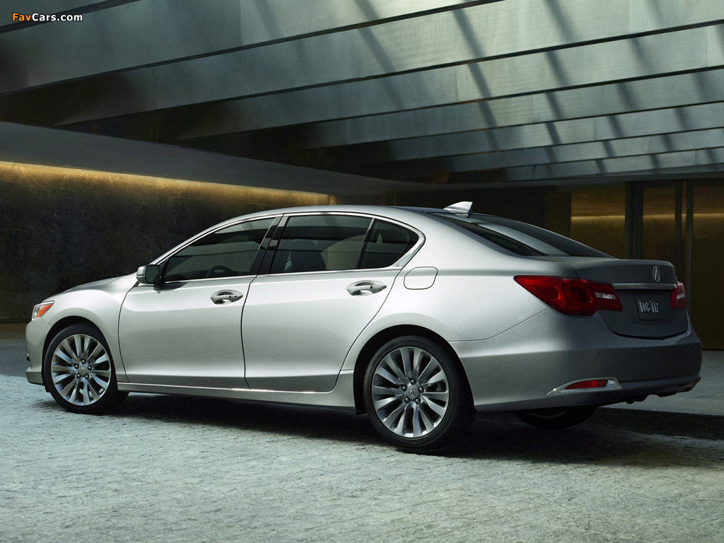 Acura RLX (2013) wallpapers (1024 x 768)
