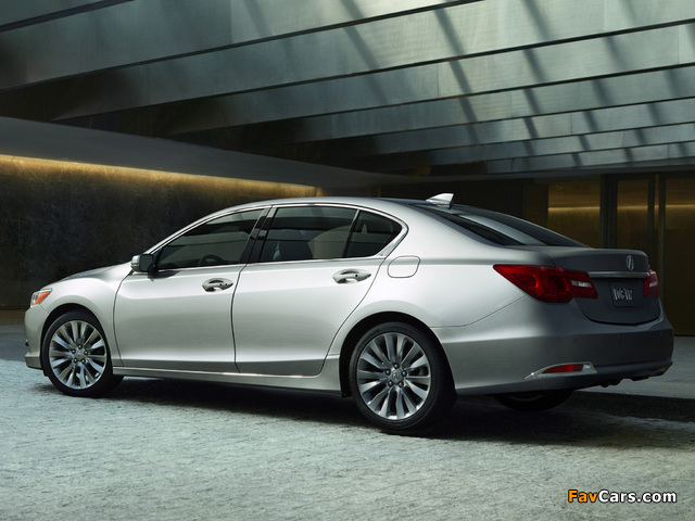 Acura RLX (2013) wallpapers (640 x 480)
