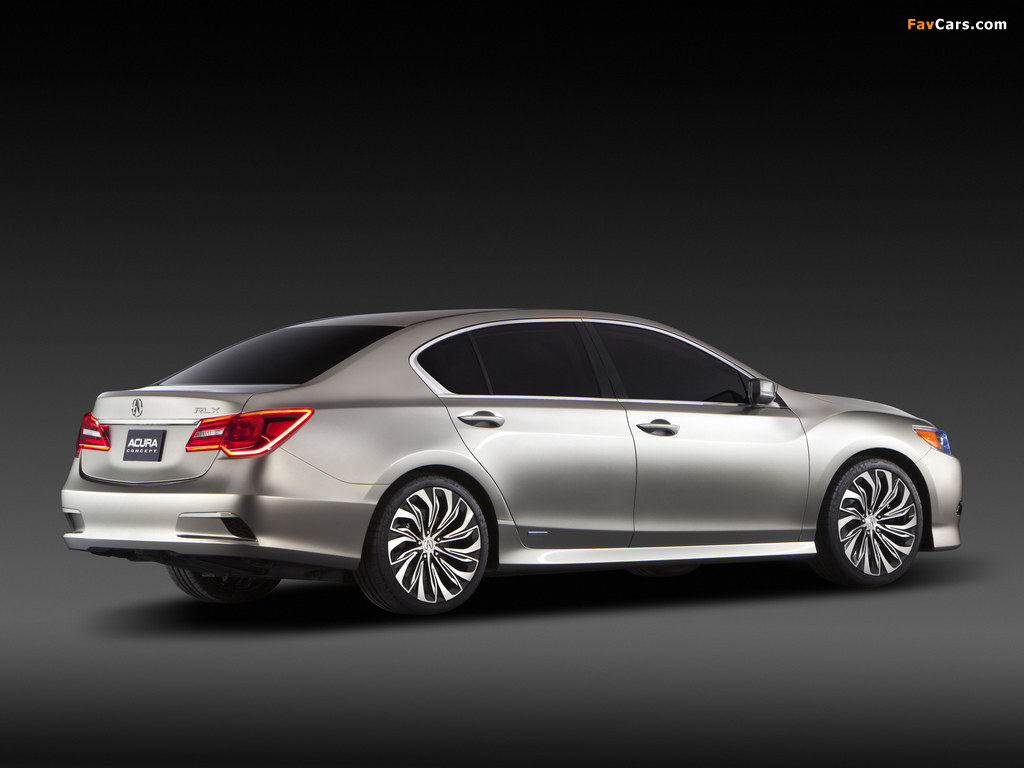Images of Acura RLX Concept (2012) (1024 x 768)
