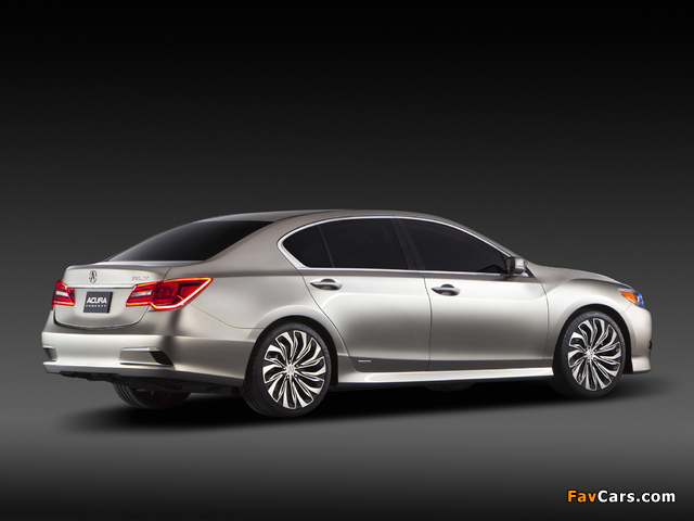 Images of Acura RLX Concept (2012) (640 x 480)