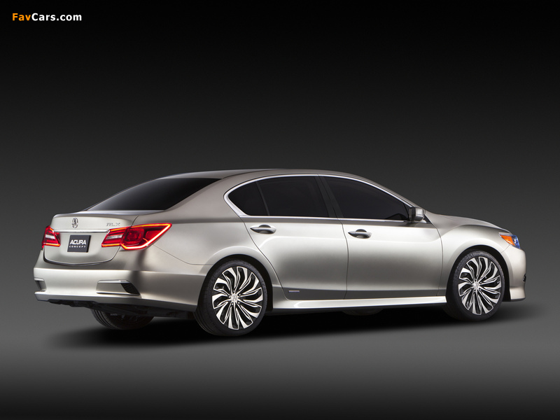 Images of Acura RLX Concept (2012) (800 x 600)