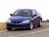 Acura RSX Type-S (2002–2004) photos
