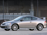 Photos of Acura RSX Type-S Factory Performance Package (2003–2004)