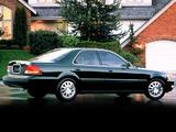 Acura TL (1996–1998) photos