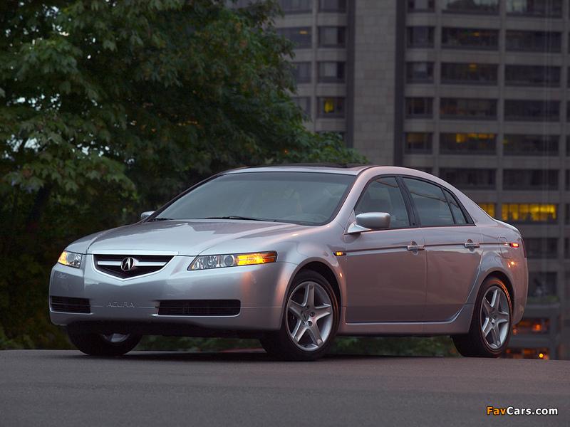 Acura TL (2004–2007) photos (800 x 600)