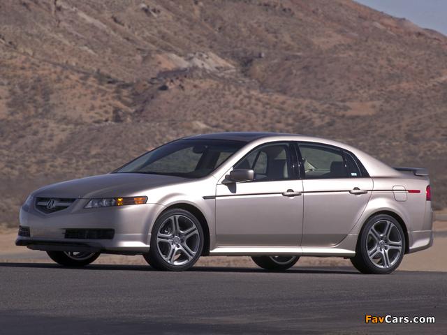 Photos of Acura TL A-Spec (2004–2007) (640 x 480)