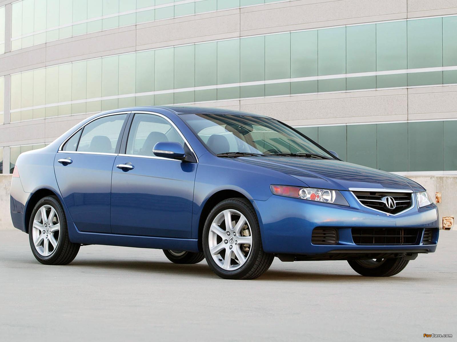 Acura TSX (2003–2006) photos (2048x1536)