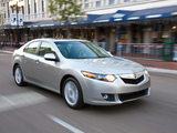 Pictures of Acura TSX (2008–2010)