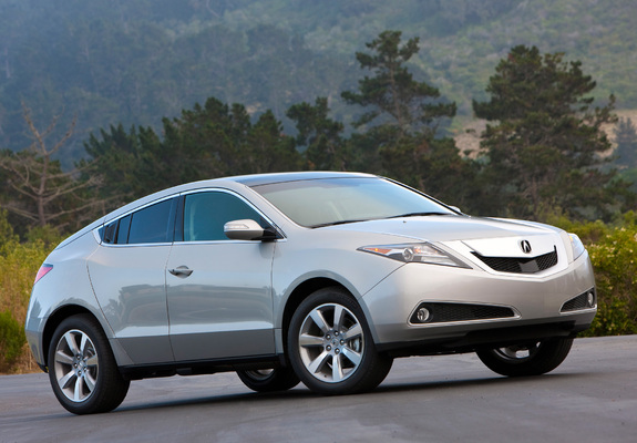 pictures of acura zdx 2009. Black Bedroom Furniture Sets. Home Design Ideas