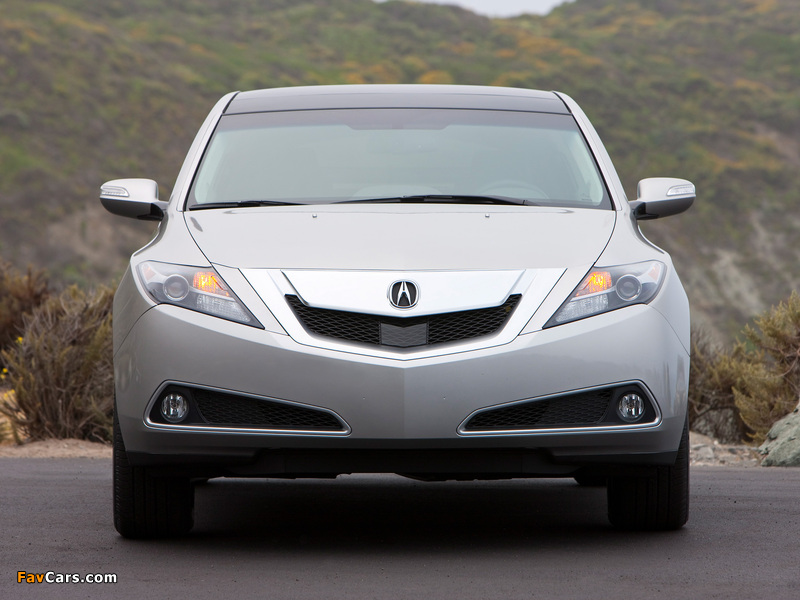 Acura ZDX (2009) wallpapers (800x600)