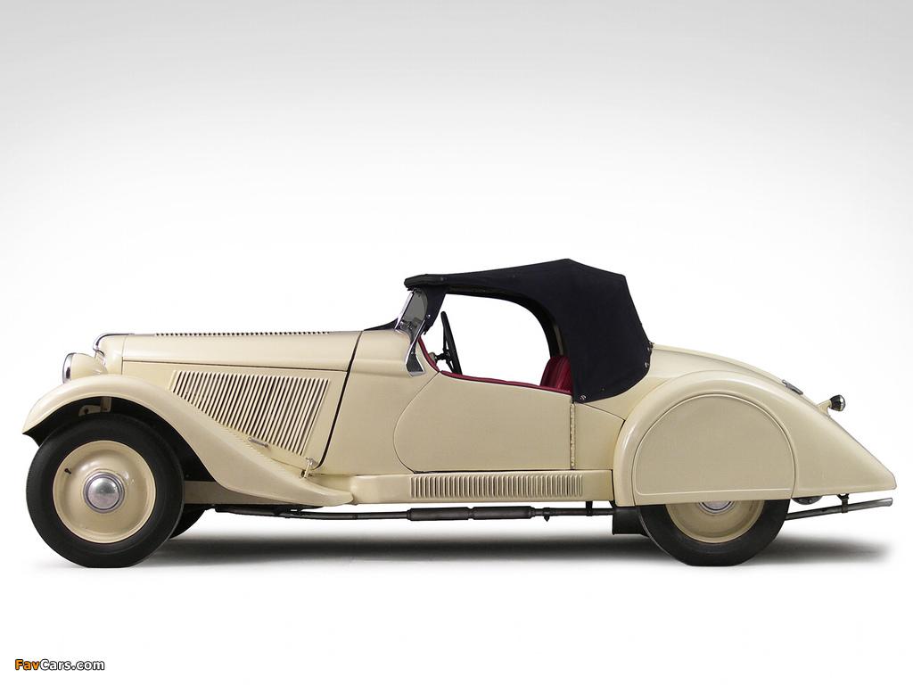 Adler Trumpf Junior Sport Roadster (1935–1937) wallpapers (1024 x 768)