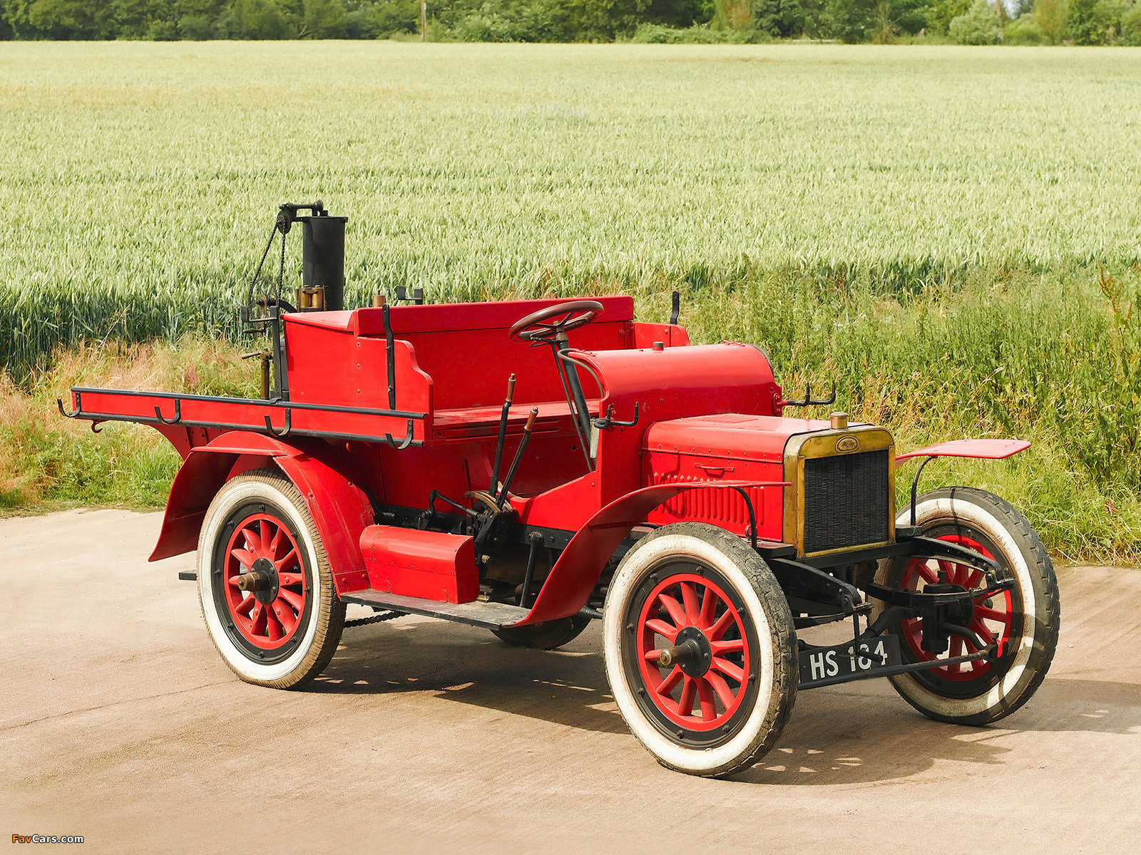 Photos of Albion 16 HP Estate Fire Engine (1906) (1600 x 1200)