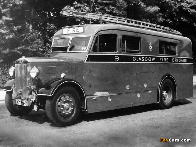 Images of Albion CX14 Firetruck (1939) (640 x 480)