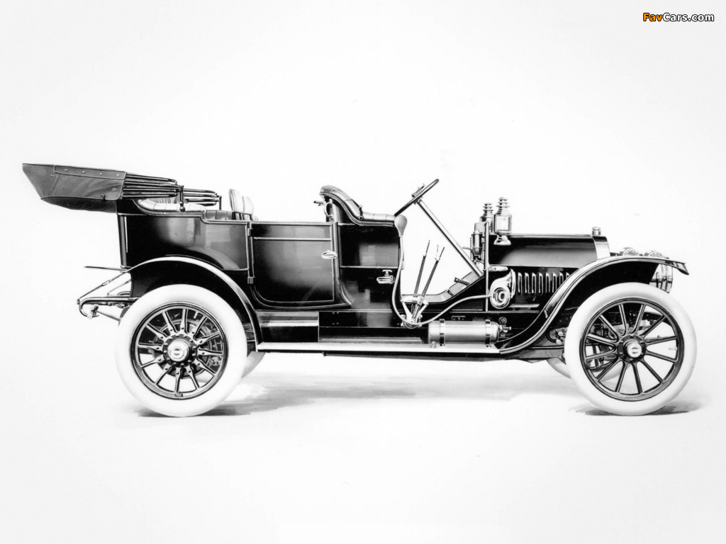ALCO Model 4-40 Toy Tonneau Touring (1910–1912) wallpapers (1024 x 768)