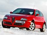 Alfa Romeo 147 3-door UK-spec 937A (2001–2004) pictures