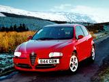 Alfa Romeo 147 3-door UK-spec 937A (2001–2004) wallpapers