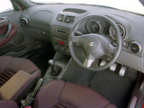 Alfa Romeo 147 GTA AU-spec 937A (2003–2005) images