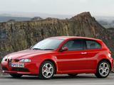 Alfa Romeo 147 GTA UK-spec 937A (2003–2005) pictures