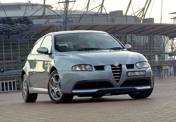 Alfa Romeo 147 Gta Au Spec 937a 2003 2005 Wallpapers