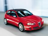 Alfa Romeo 147 Quadrifoglio Verde 937A (2008–2009) wallpapers
