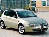 Photos of Alfa Romeo 147 5-door UK-spec 937B (2001–2004)