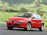 Photos of Alfa Romeo 147 Ti AU-spec 937A (2003–2004)