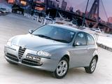 Pictures of Alfa Romeo 147 3-door AU-spec 937A (2001–2004)
