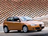 Alfa Romeo 147 5-door ZA-spec 937B (2005–2009) wallpapers