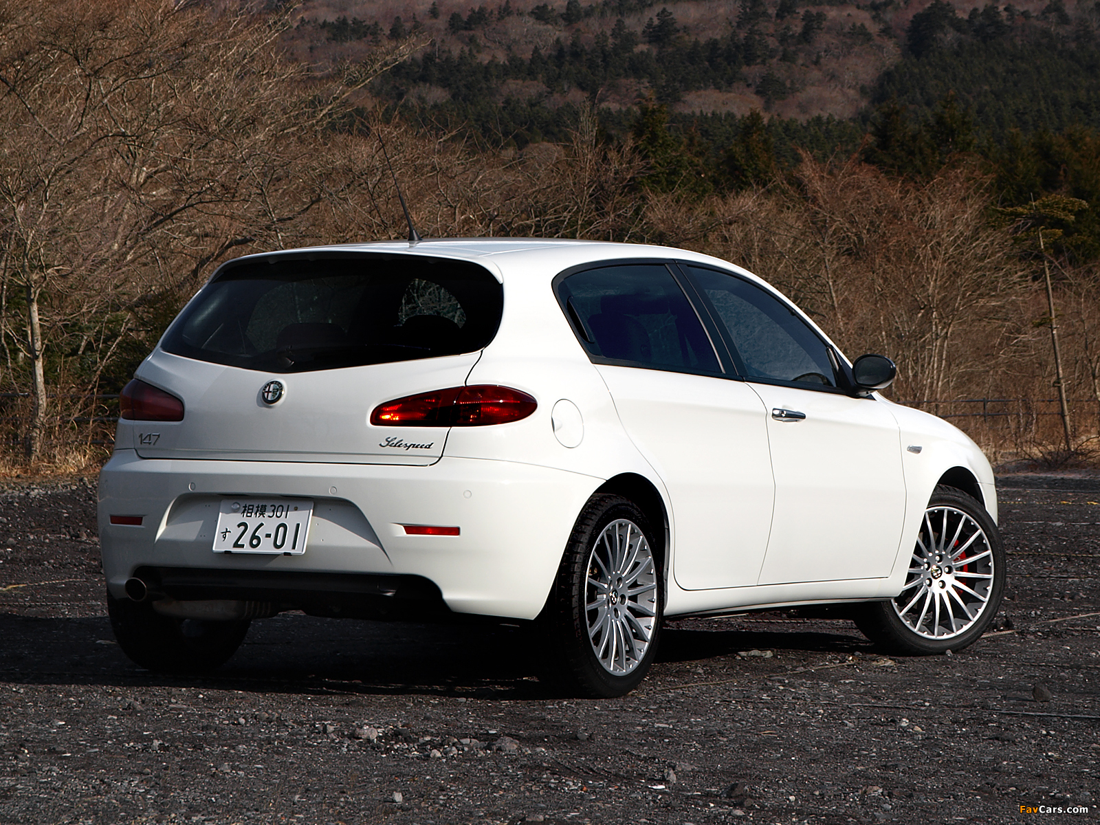 Alfa Romeo 147 White Edition 937b 2008 Wallpapers