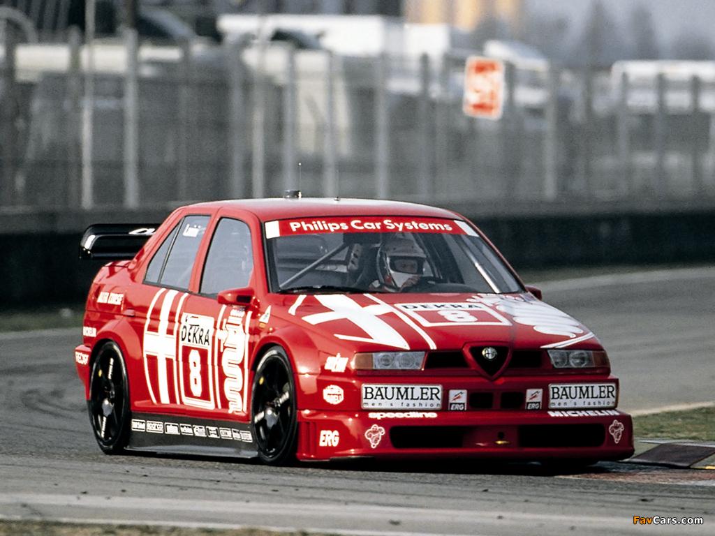 Alfa Romeo 155 2.5 V6 TI DTM SE052 (1993) wallpapers (1024x768)