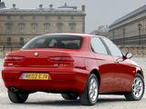 Alfa Romeo 156 UK-spec 932A (2002–2003) images