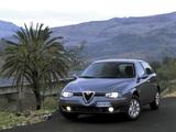 Alfa Romeo 156 Sportwagon 932B (2002–2003) pictures