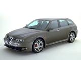 Alfa Romeo 156 Sportwagon GTA 932B (2002–2005) pictures