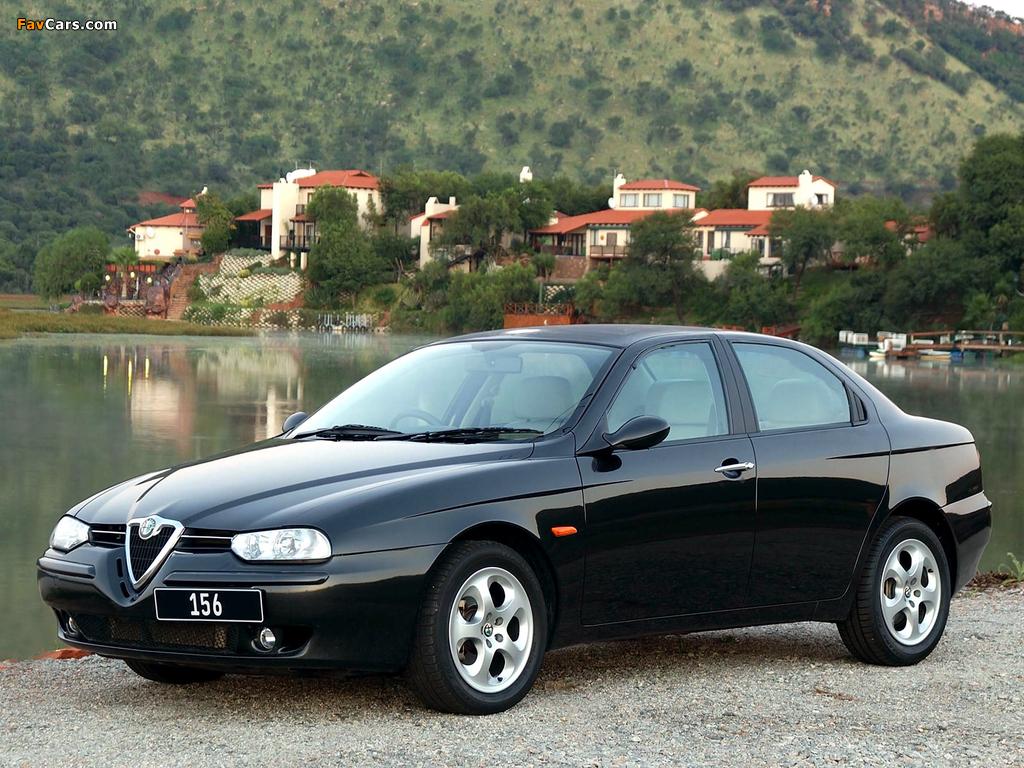 Alfa Romeo 156 ZA-spec 932A (2002–2003) pictures (1024 x 768)