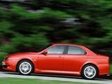 Alfa Romeo 156 GTA UK-spec 932A (2002–2005) wallpapers