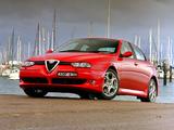 Alfa Romeo 156 GTA AU-spec 932A (2002–2003) wallpapers