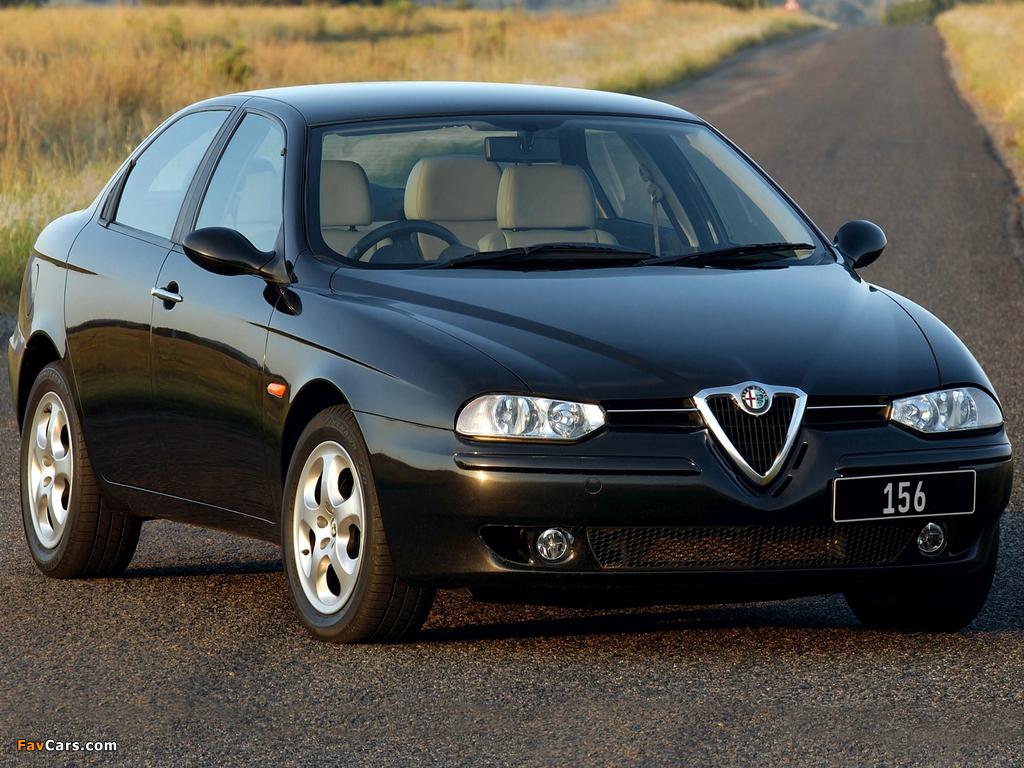 Alfa Romeo 156 ZA-spec 932A (2002–2003) wallpapers (1024 x 768)