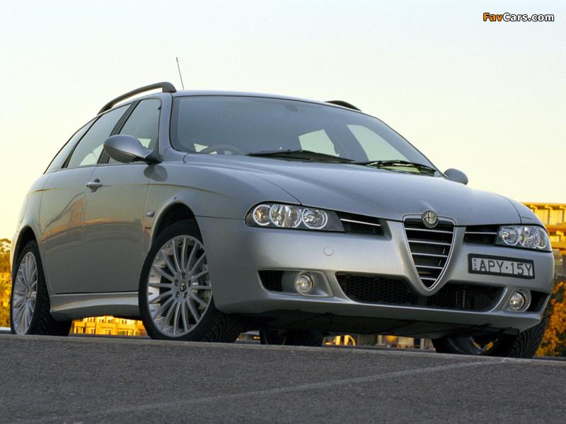Alfa Romeo 156 Sportwagon AU-spec 932B (2003–2005) images (800 x 600)