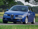 Alfa Romeo 156 Sportwagon UK-spec 932B (2003–2005) photos