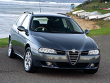 Alfa Romeo 156 Sportwagon AU-spec 932B (2003–2005) photos